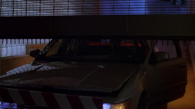X-Files Car Crushed